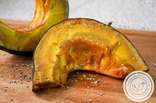 Abóbora Assada no Forno - um prato delicioso e nutritivo para o almoço da semana!