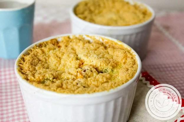 Receita de Torta de Frango sem massa - um prato caseiro e saboroso para o almoço ou jantar.