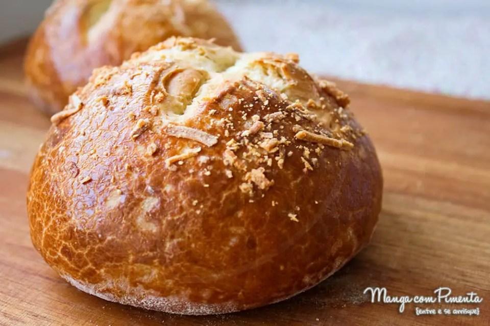 Pão Pretzel para Hambúrguer