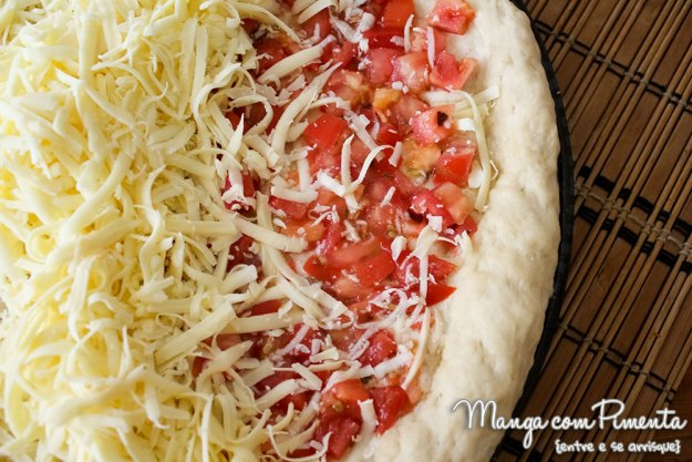 Pizza da Vovó - Sem molho e com muito Tomate