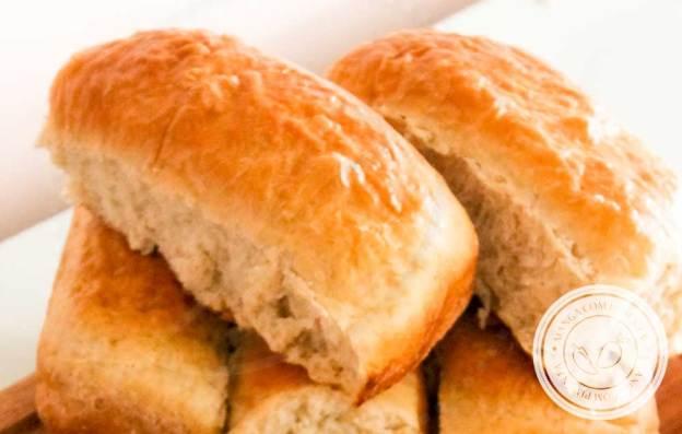 Receita de Pão para Cachorro Quente - prepare um delicioso Hot Dog com esse pão caseiro na sua casa.