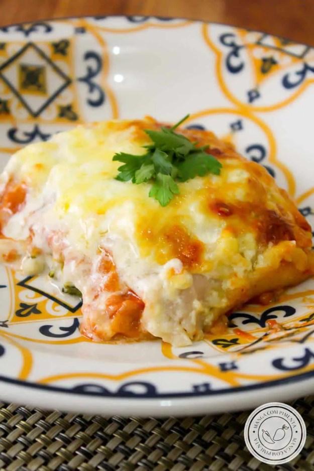 Lasanha com Massa de Pastel - receita maravilhosa para o almoço de domingo!