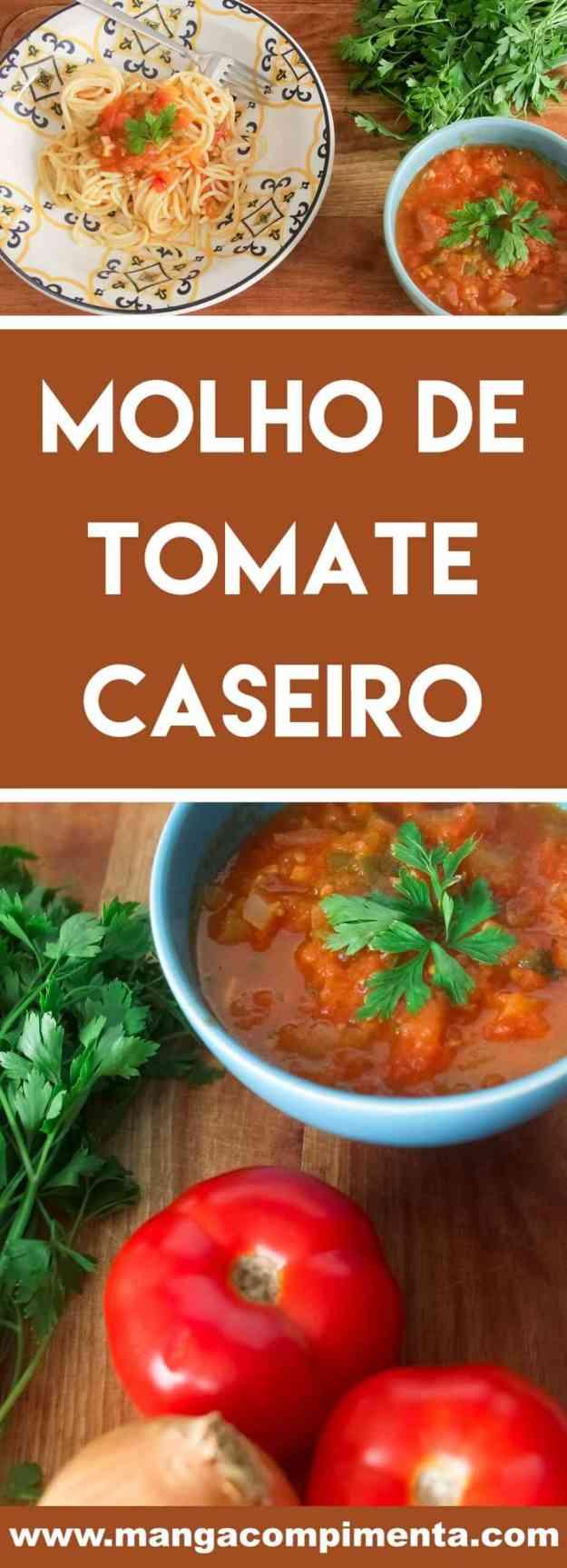 Receita de Molho de Tomate Caseiro - para fazer bonito no macarrão de domingo!