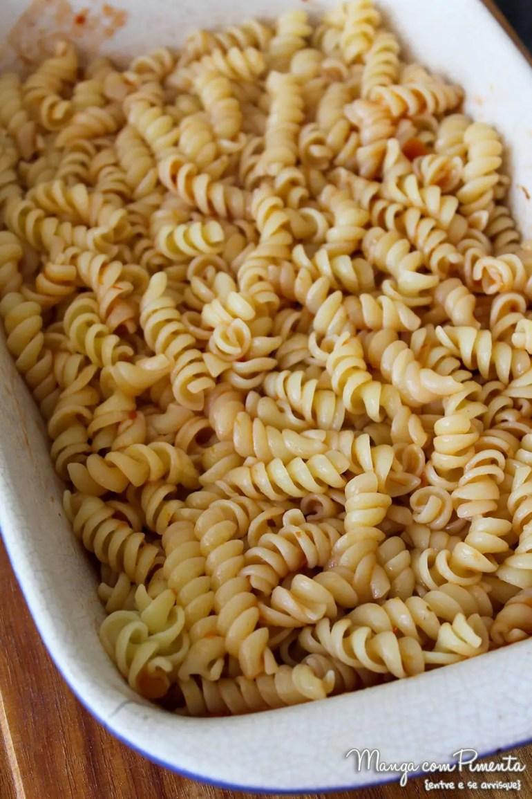 Macarrão ao Forno com Carne Moída e Queijo