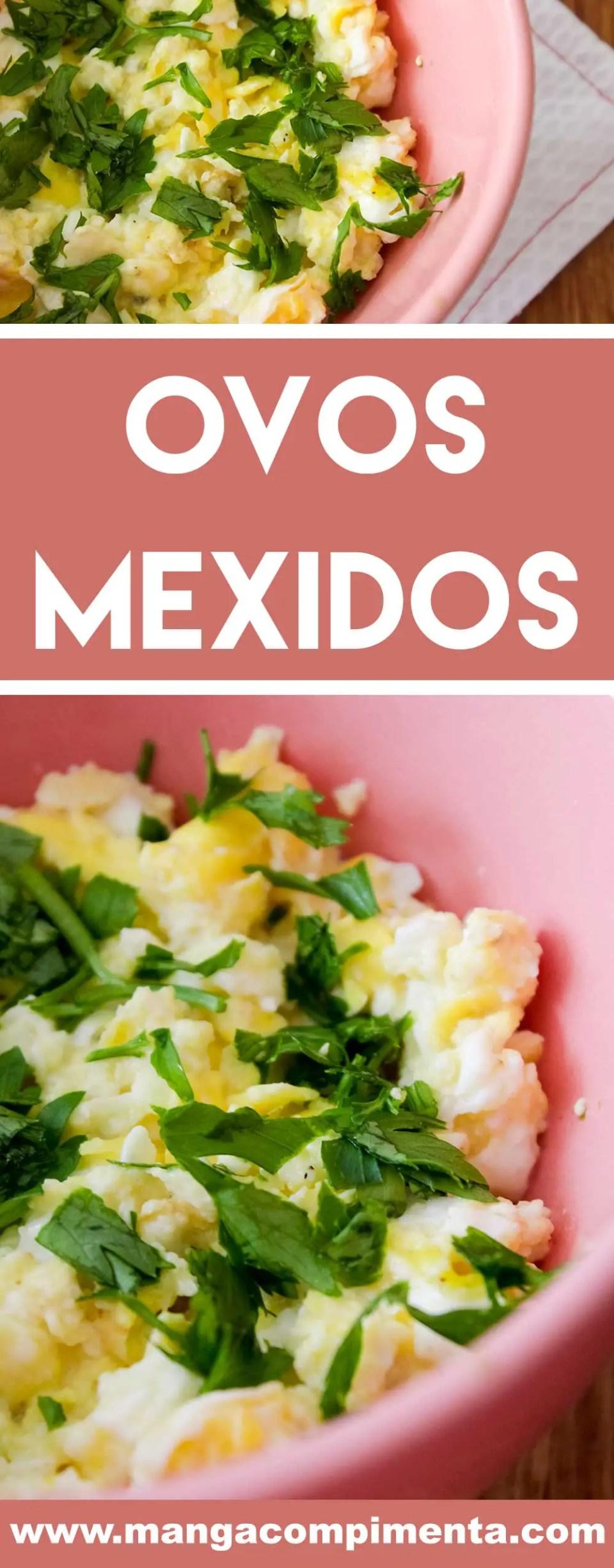Receita de Ovos Mexidos - perfeito para o café da manhã ou para servir no lanche.