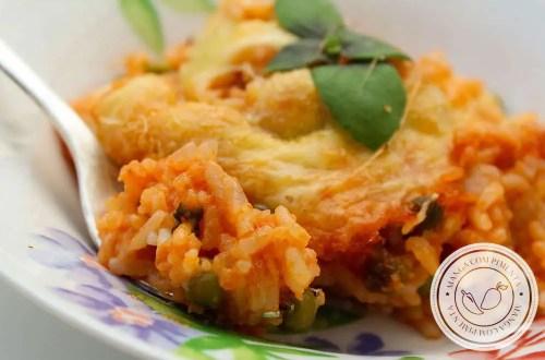 Receita de Arroz de Forno de Camarão - um prato delicioso para comemorar qualquer feriado com a família.