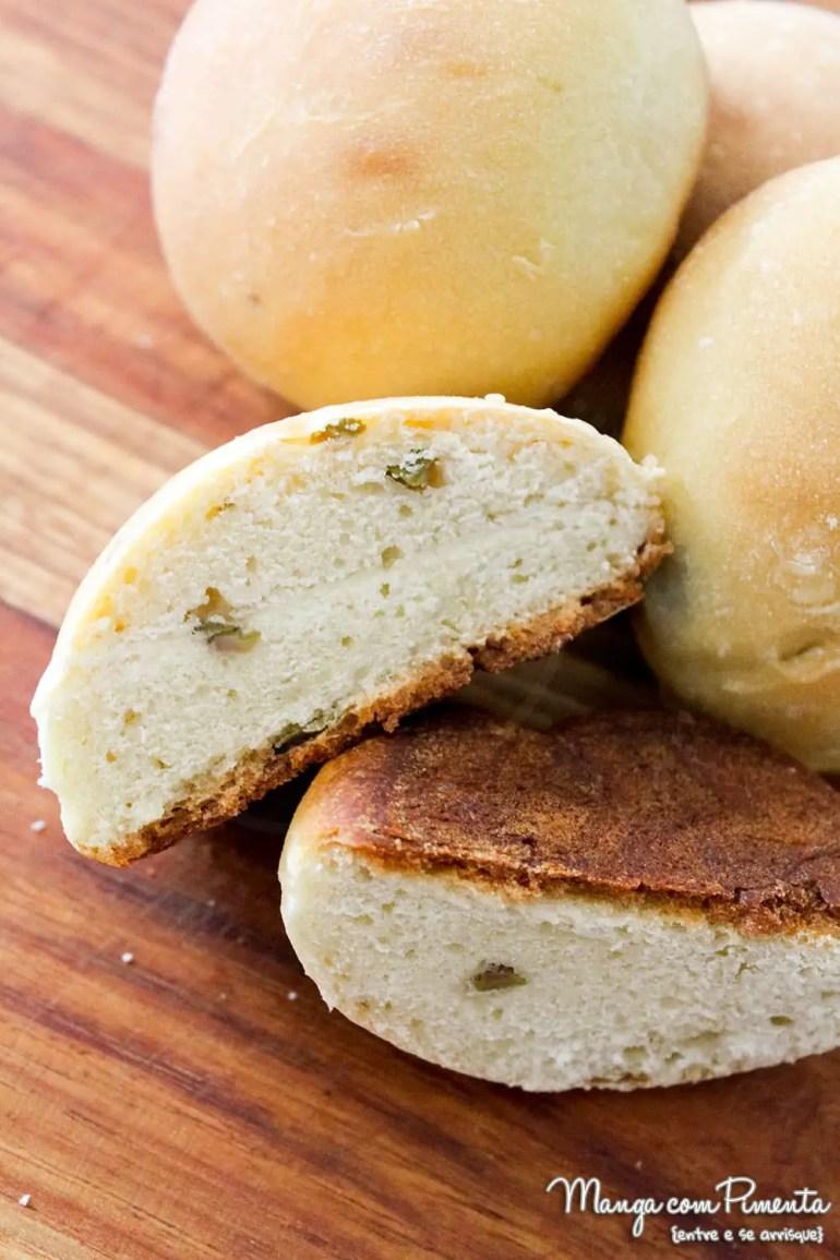 Pão de Azeitonas Verdes