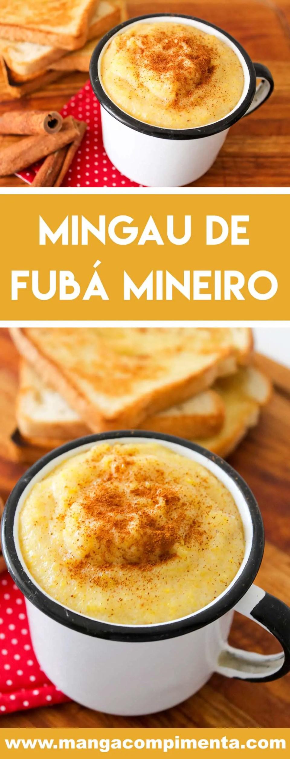 Receita de Mingau de Fubá Mineiro - prepare para os dias frios ou para servir nas festas Junina ou Julina.