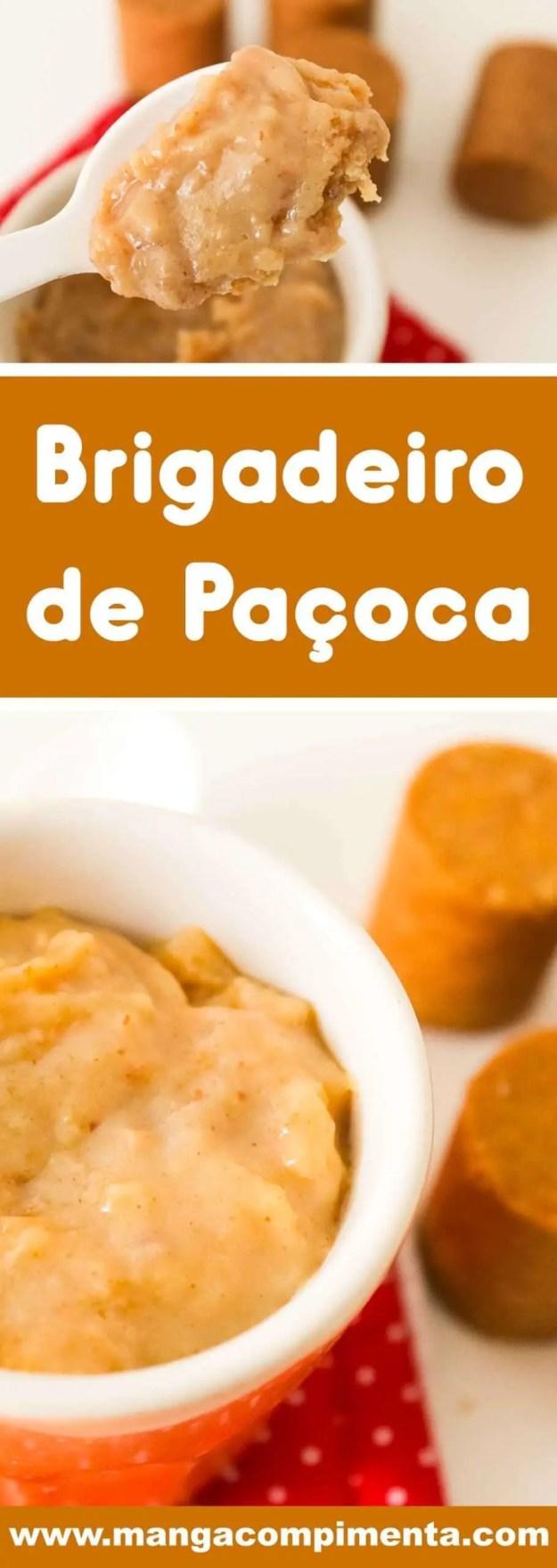 Receita de Brigadeiro de Paçoca - um docinho para alegrar qualquer arraial.
