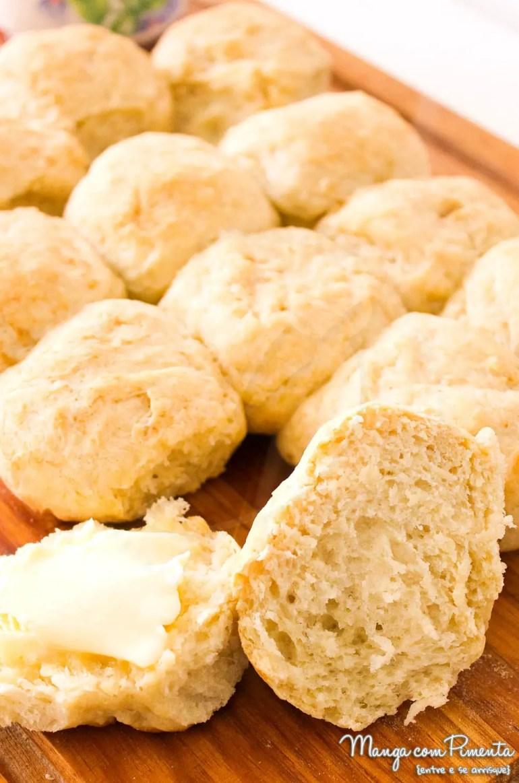 Bolinhas de Pão Rápido - 30 minutos
