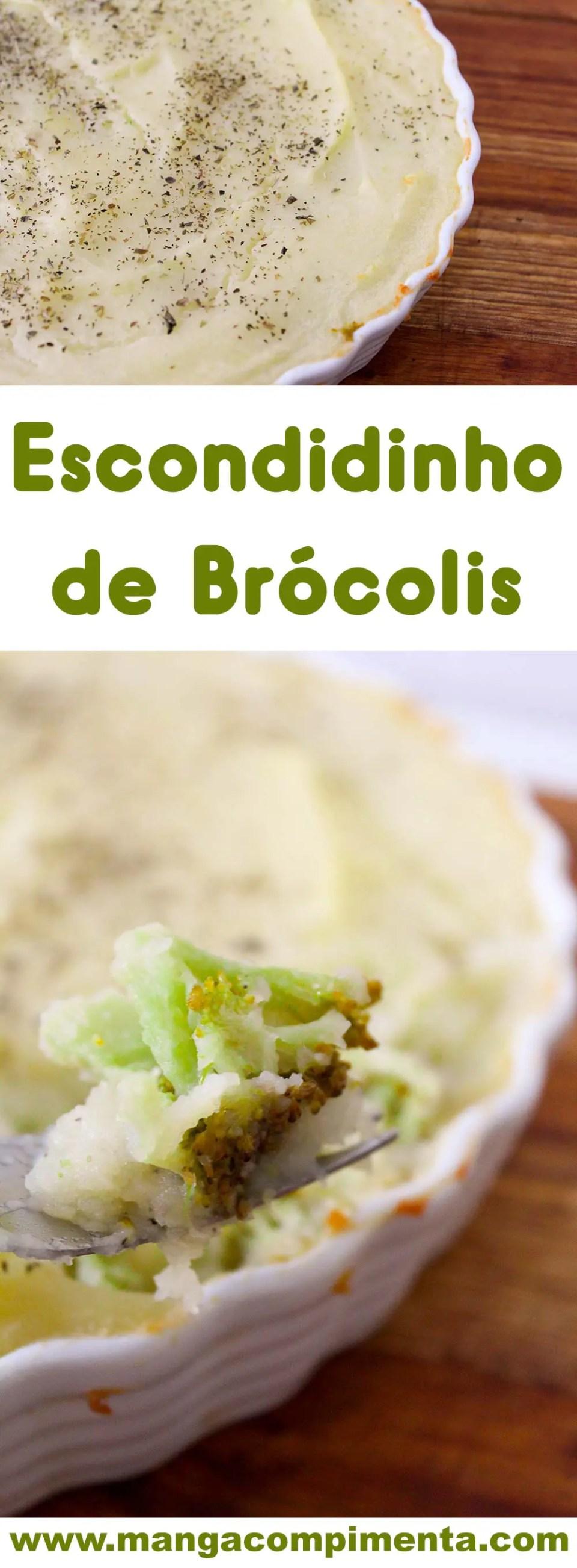 Escondidinho de Brócolis - prepare esse prato delicioso para o almoço da semana.
