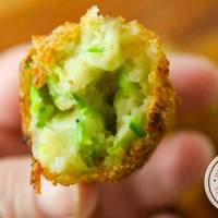 Croquete de Abobrinha | Petisco Vegetariano