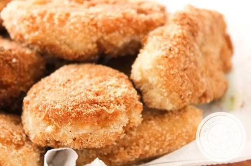 Receita de Nuggets de Frango - Parecido com dos Restaurantes FastFood.