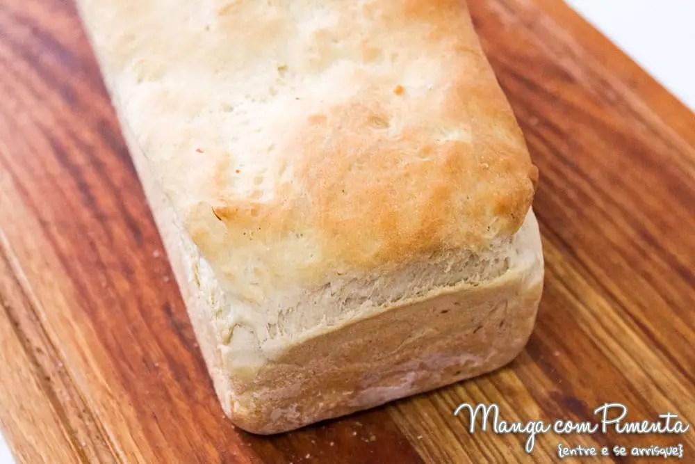 Pão de Forma Recheado com Lombo e Queijo