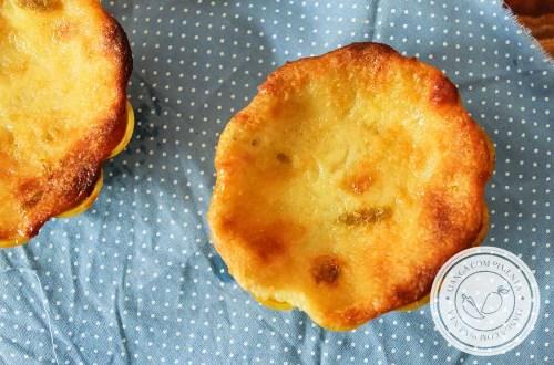 Receita de Queijadinhas de Limão - um docinho que é impossível comer apenas um.