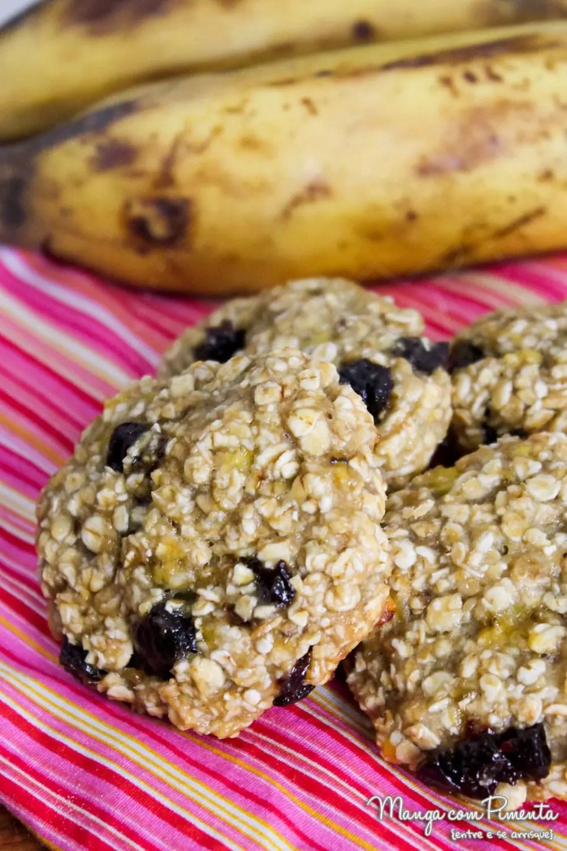 Biscoito de Banana e Aveia