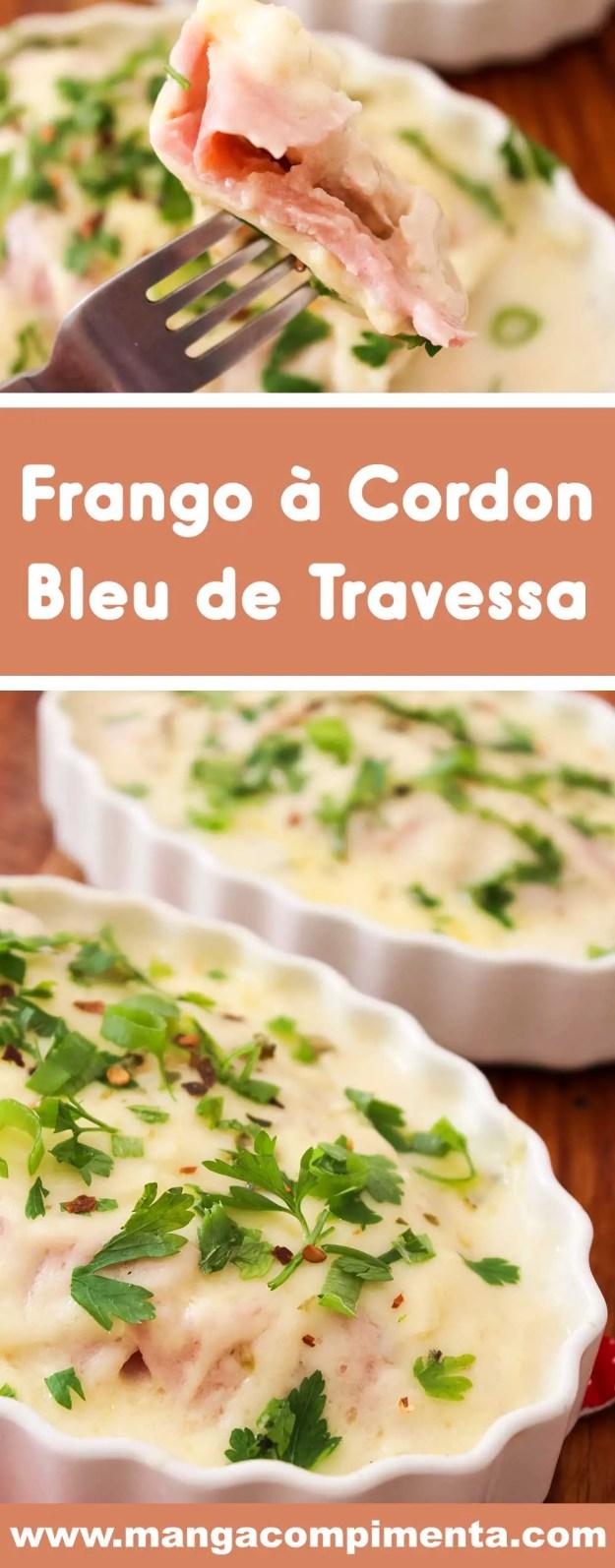 Receita de Frango à Cordon Bleu de Travessa - sem empanar e perfeito para comemorar com as pessoas que você ama!