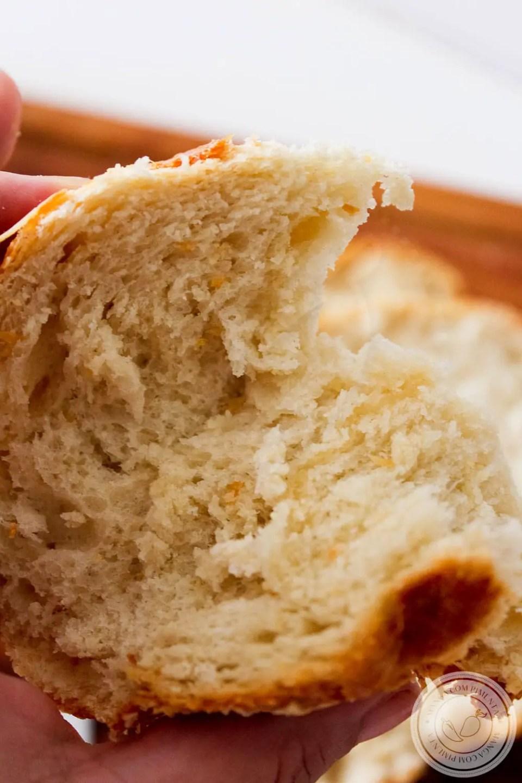 Pão de Parmesão Fofinho   Para o Café da Manhã ou Lanche da Tarde