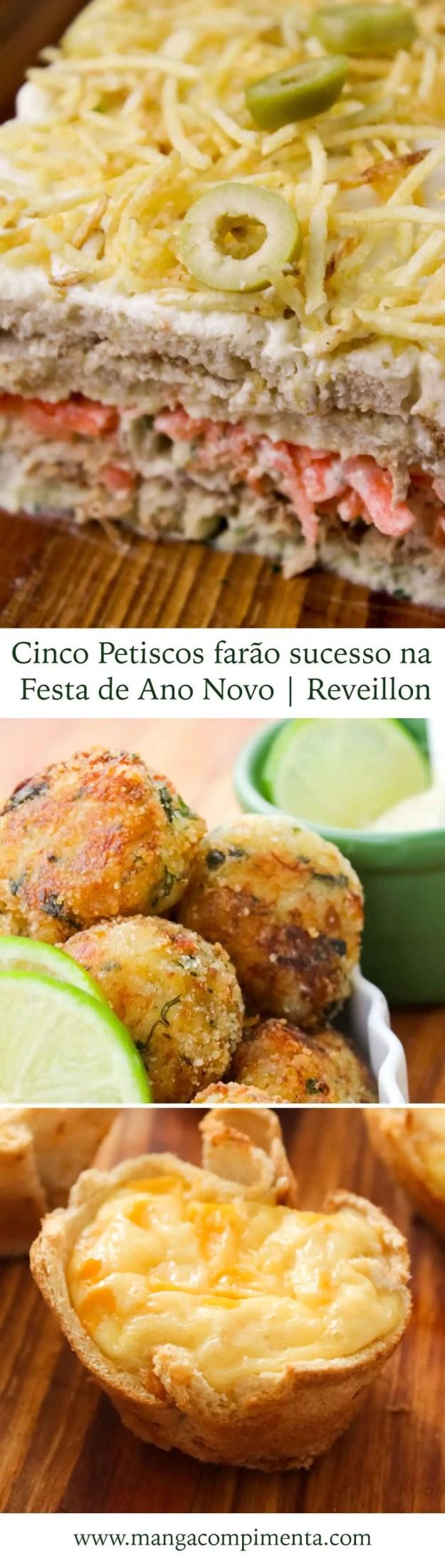5 Petiscos farão sucesso na Festa de Ano Novo | Reveillon