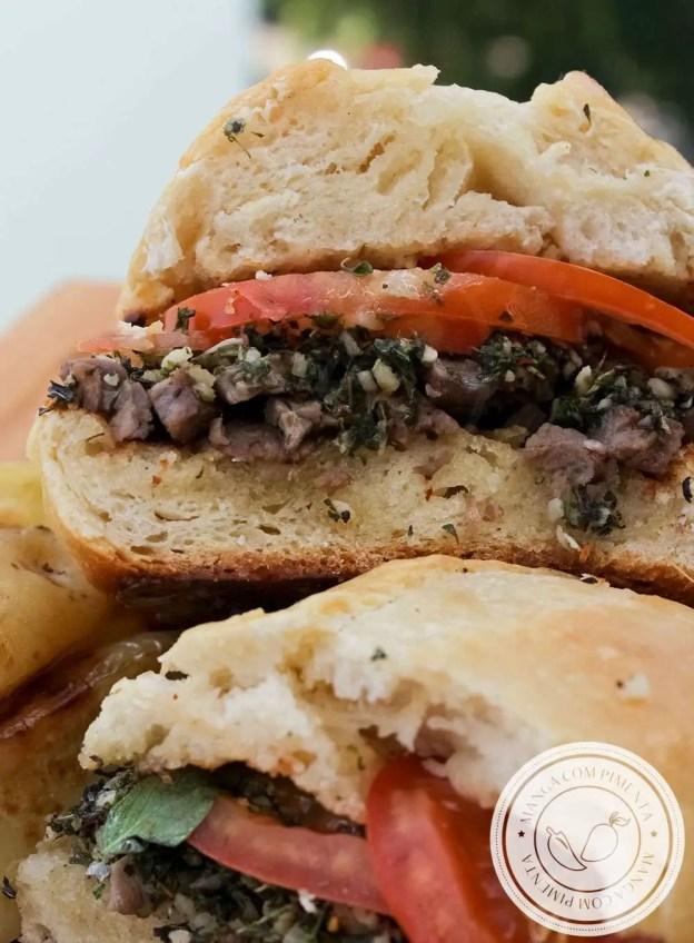 Como preparar um lanche delícia: Sanduíche de Carne com Chimichurri | Receitas de Verão