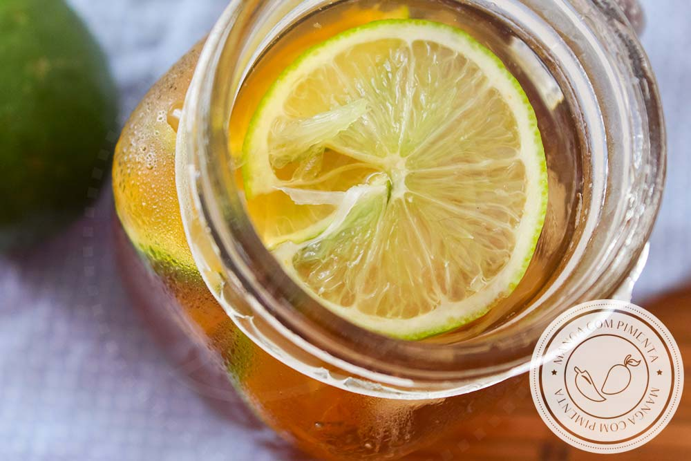 Chá Mate com Limão Gelado - Aprenda a fazer essa bebida deliciosa neste Verão!