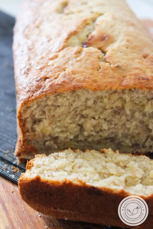 Banana Bread | Receita Americana para o Lanche da Tarde!