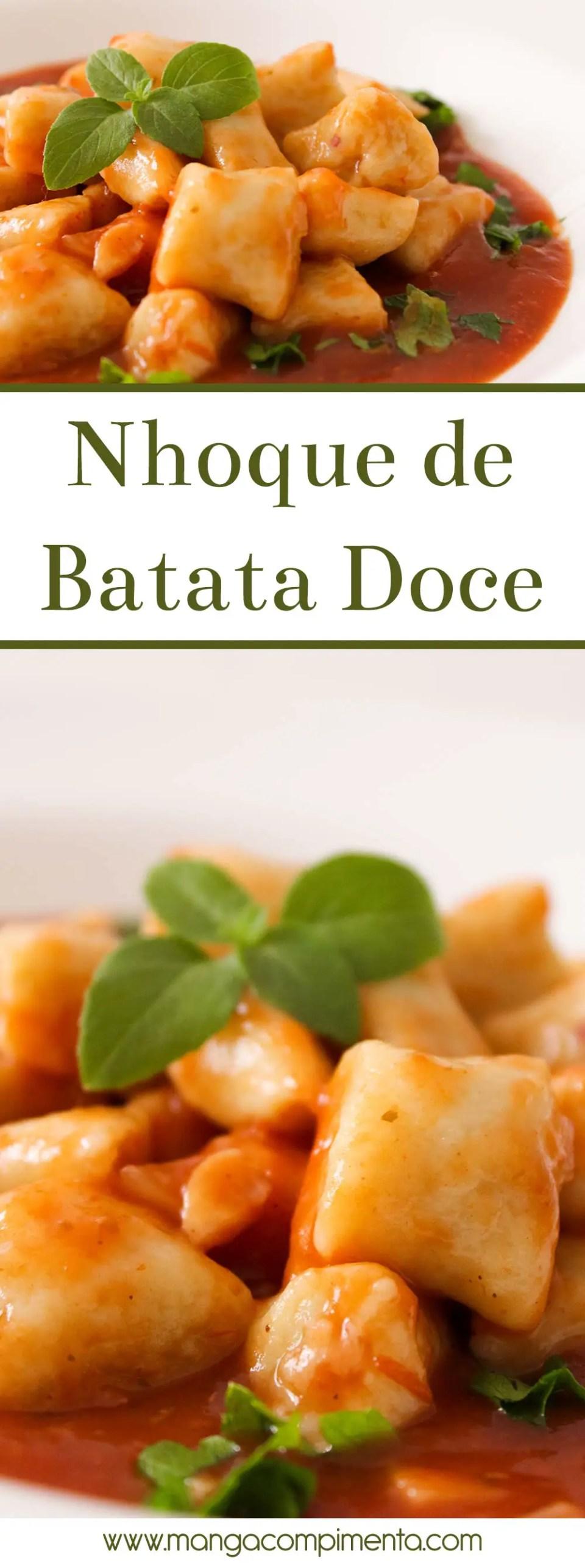 Nhoque de Batata Doce | Almoço de Final de semana em Família!