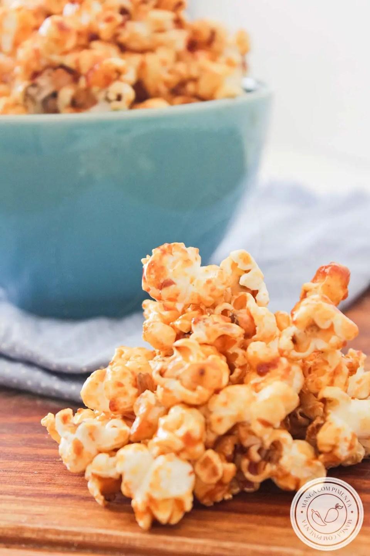 Pipoca Caramelada | Aprenda a fazer essa delícia para toda família!