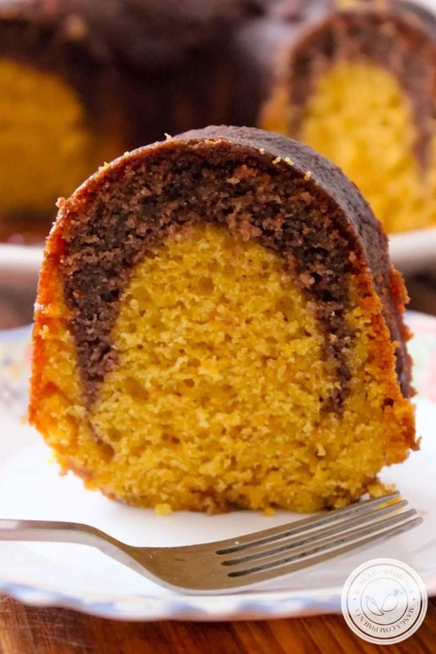 Bolo de Cenoura e Brownie de Chocolate - uma delícia para o café da manhã ou lanche da tarde