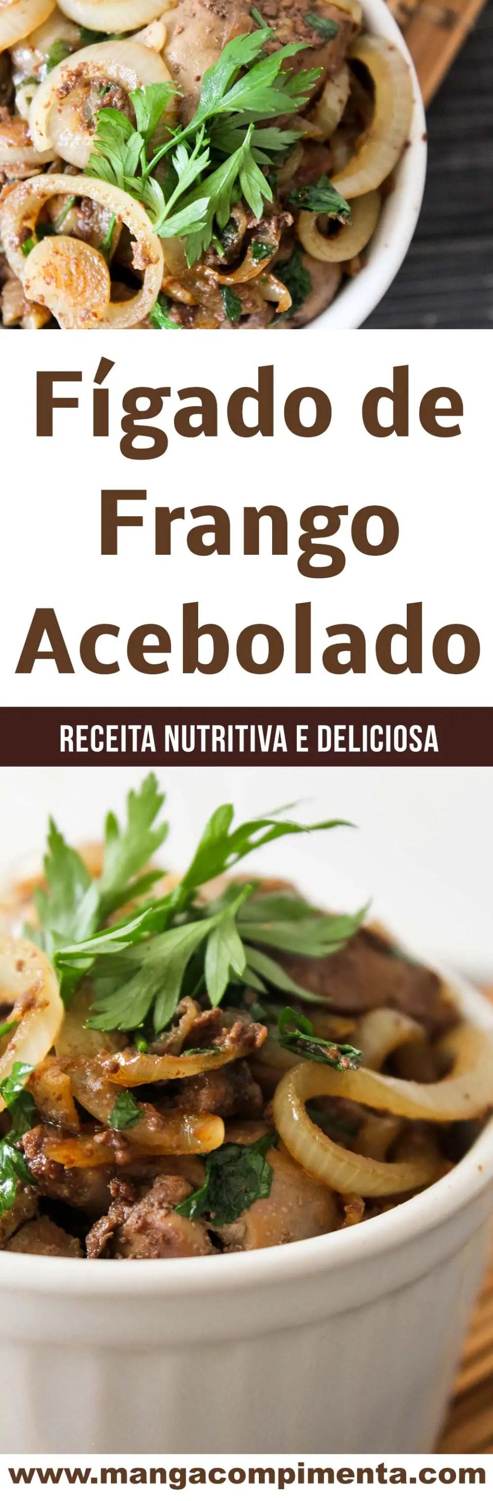 Fígado de Galinha Acebolado - um delicioso prato nutritivo para o almoço da semana!