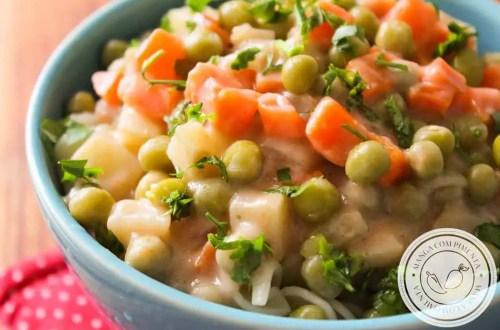 Macarronada da Comadre - uma massa deliciosa e sem carne para o almoço da família!
