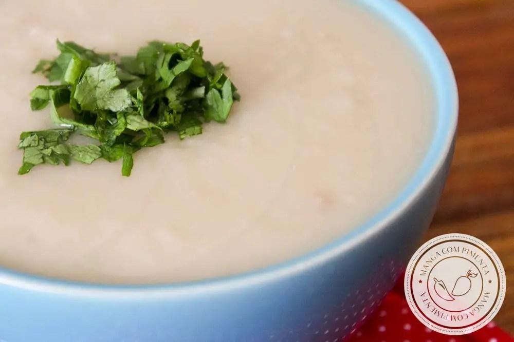 Sopa de Batata Doce com Gengibre - prepare essa delícia para os dias frios!