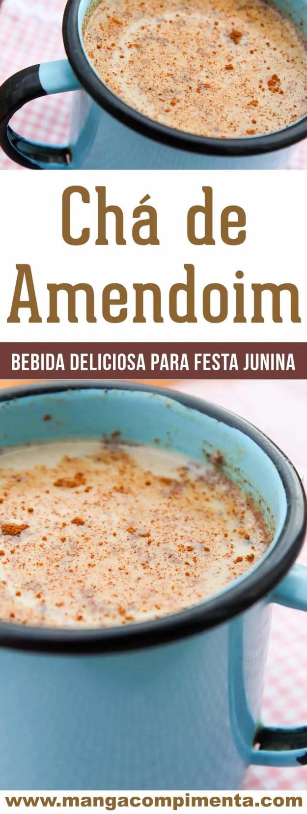 Chá de Amendoim - uma delícia para beber na Festa Junina ou em casa nos dias frios!