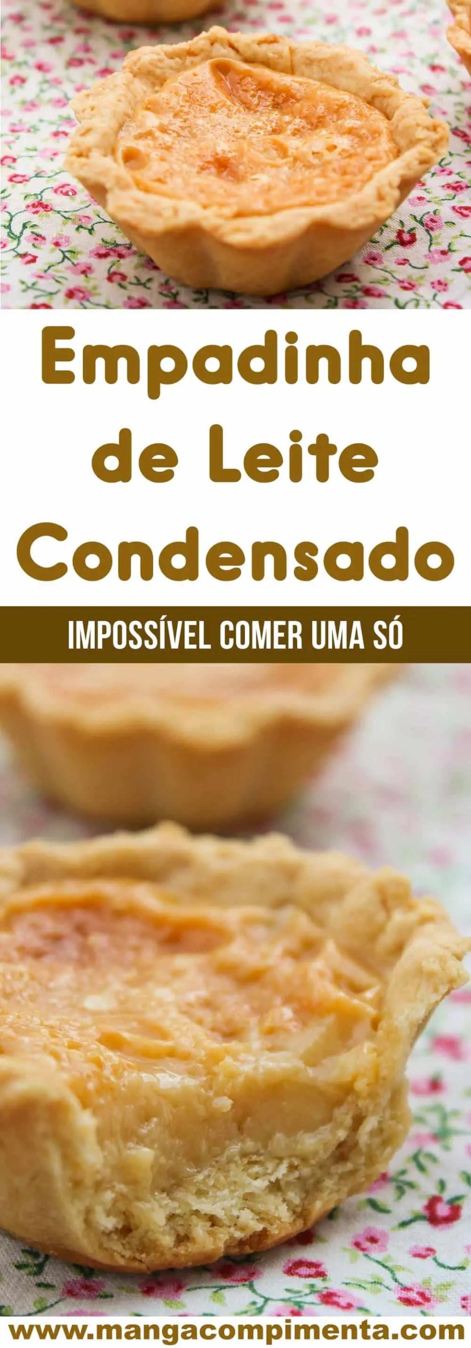 Receita de Empadinha de Leite Condensado - uma doce delicioso, impossível comer apenas um!
