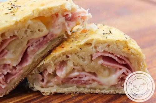 Panini Napoletani - um lanche italiano que é uma verdadeira delícia!
