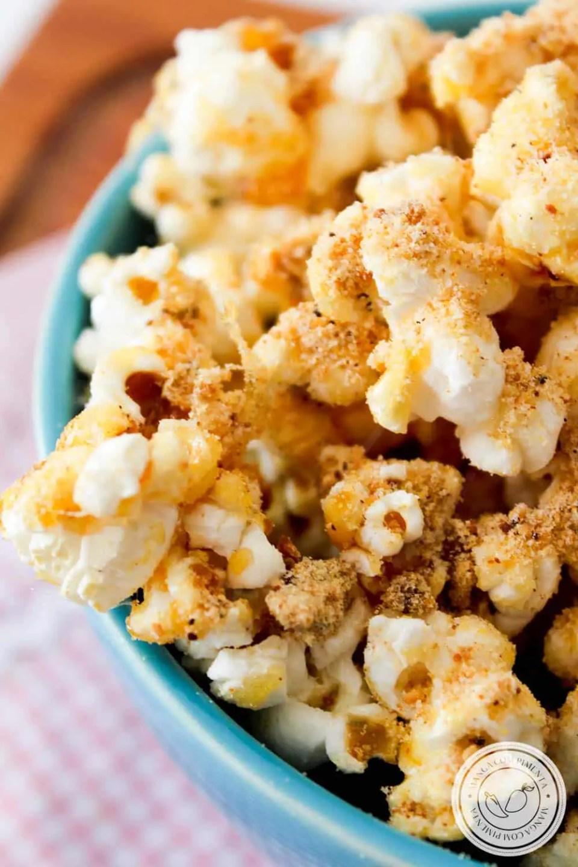 Pipoca de Paçoca - um quitute gourmet para deixar o seu arraial mais gostoso!