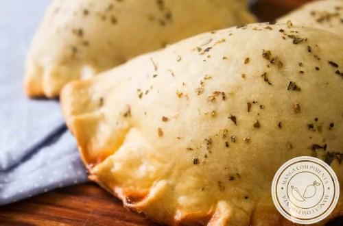 Empanadas Argentinas de Alho-poró - lanche delicioso para as férias da criançada!