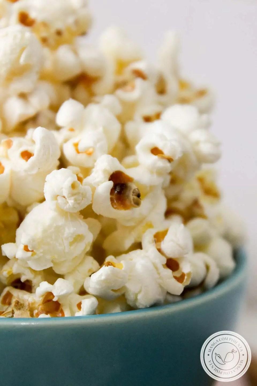 Pipoca de Cinema - aprenda a fazer em casa essa delícia!