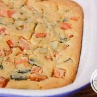 Torta de Legumes de Liquidificador | Super fácil de fazer!