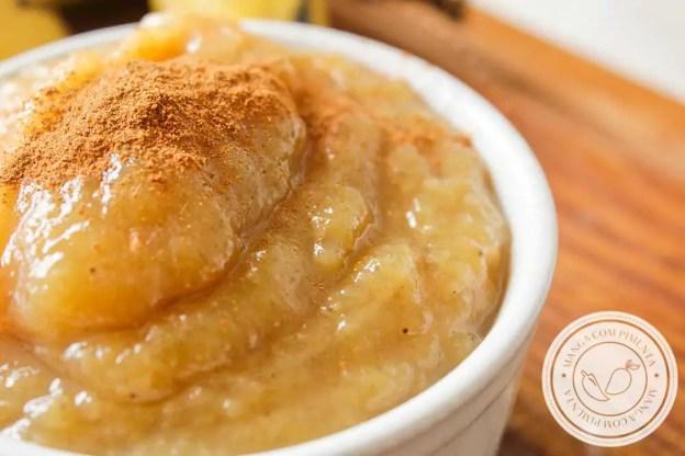 Receita de Geleia de Banana - para o café da manhã ou lanche da tarde da família.