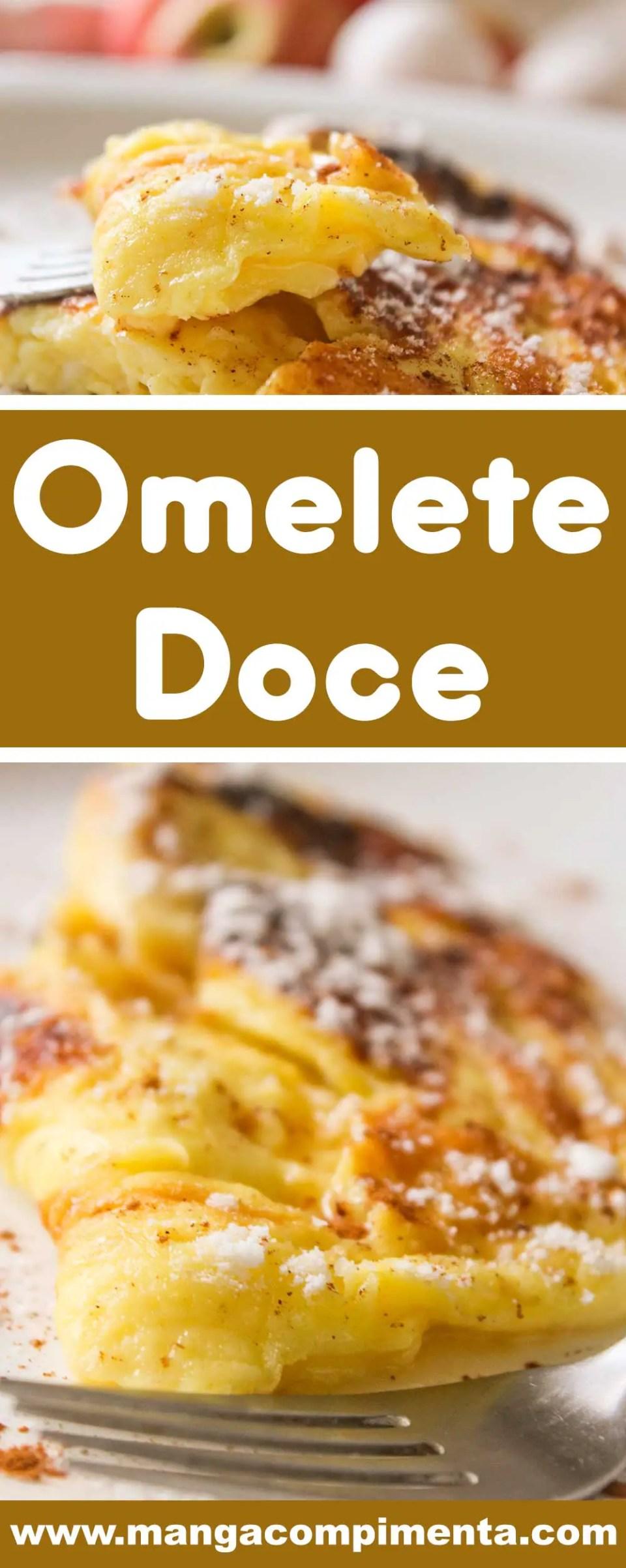 Receita de Omelete Doce - um prato delicioso para o café da manhã!