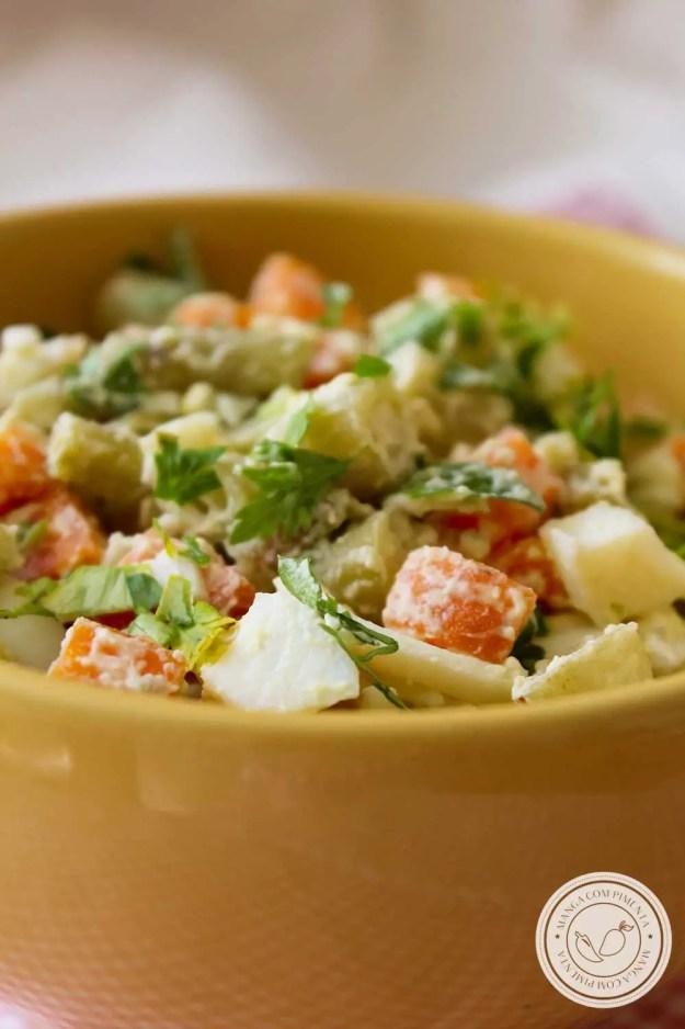 Receita de Salada de Legumes