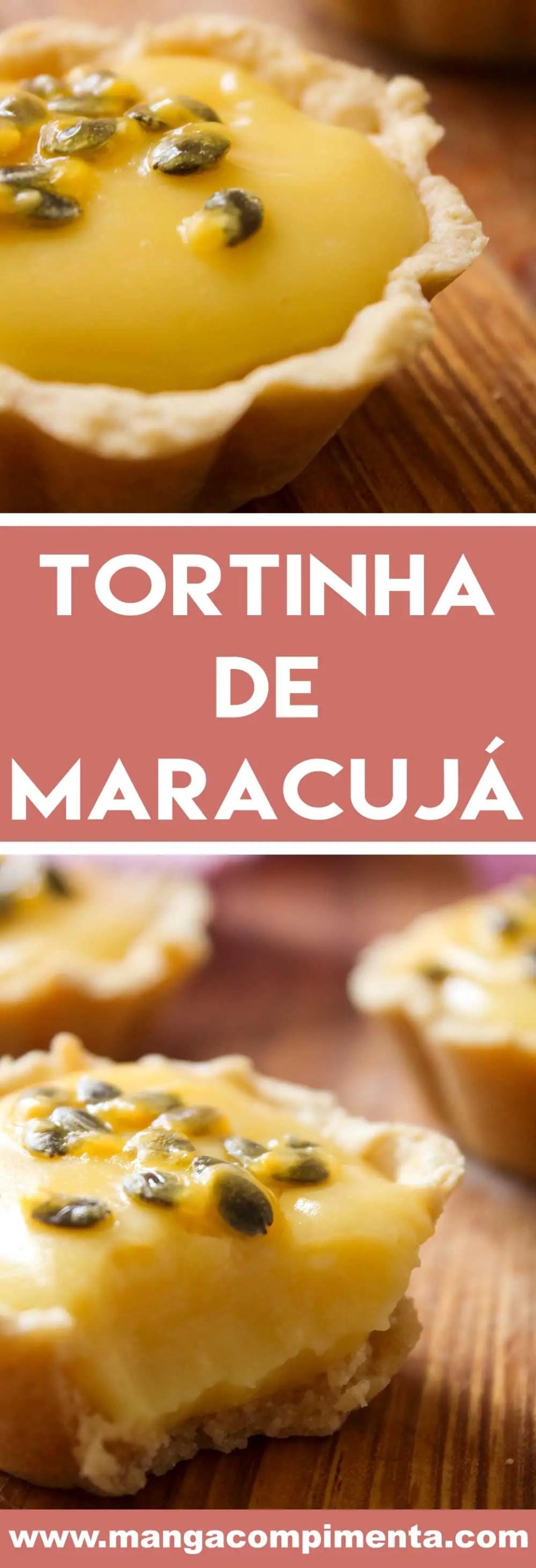 Receita de Tortinha de Maracujá - uma mini tortinha doce deliciosa para comer com as mãos!