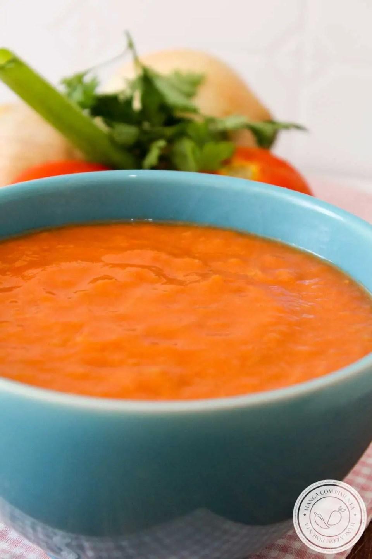 Receita de Molho de Tomates Assados - natural, gostoso e fácil de fazer em casa!