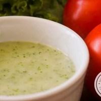 Molho de Hortelã para Salada | Tempero de Verão
