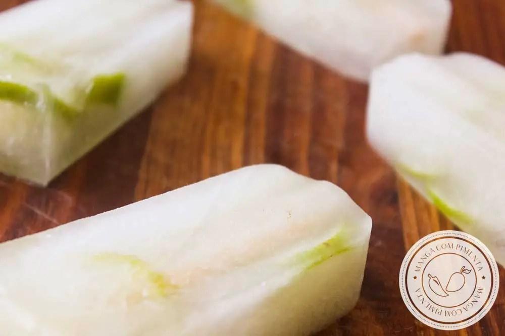 Receita de Picolé de Limão Caseiro - para refrescar em dias quentes de verão!