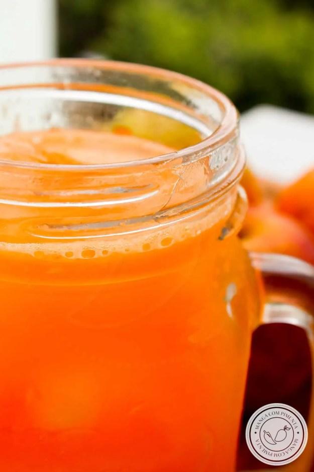 Receita de Suco de Maçã com Cenoura e Laranja - uma bebida cheia de saúde!