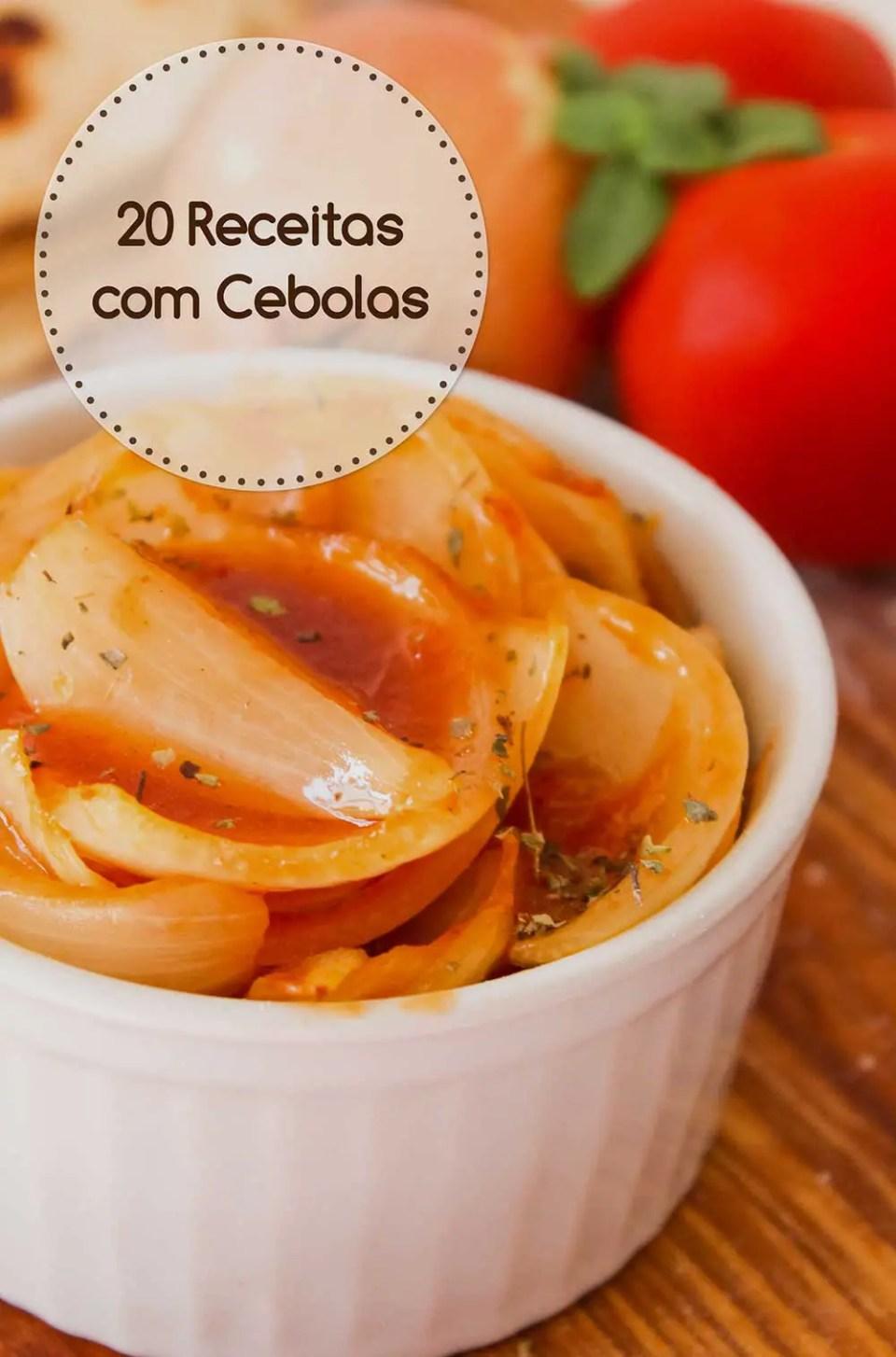 Confira 20 receitas com Cebola - a rainha da nossa cozinha!