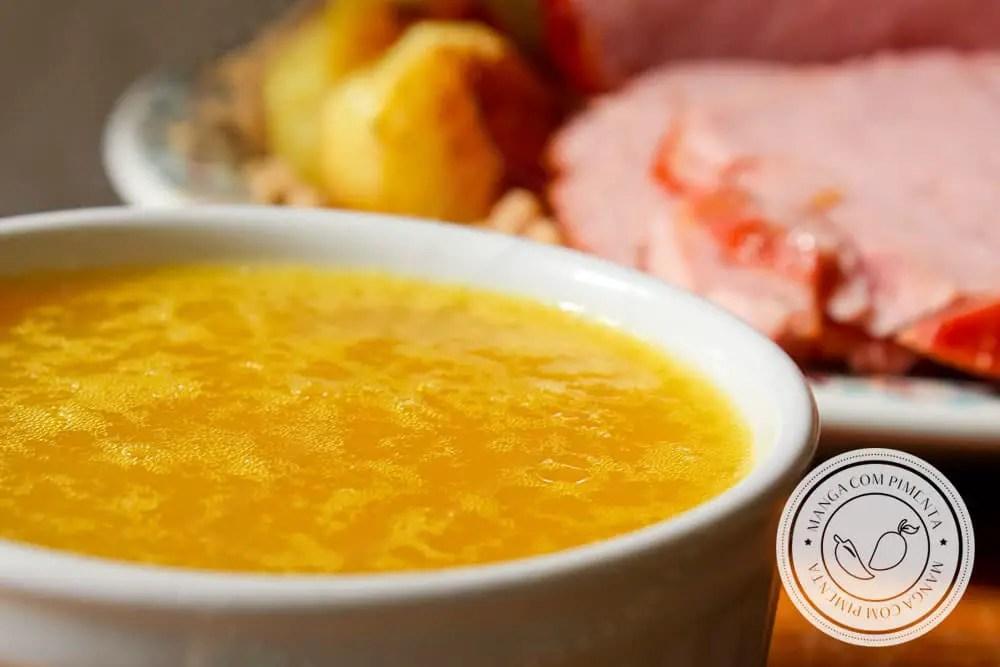Receita de Molho de Laranja e Mel para Tender - prepare para as Festas de Final de Ano ou para servir em qualquer carne de porco.