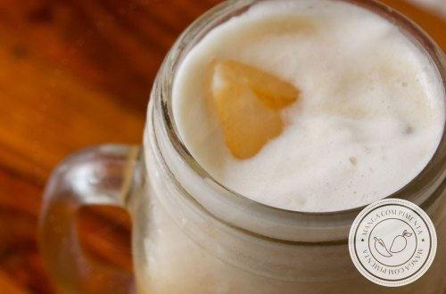 Receita de Chá Mate com Abacaxi - para matar a sede nesse verão!